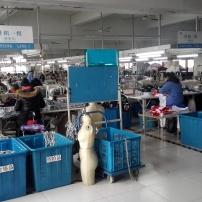 缝制车间针织组